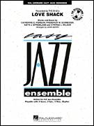 Cover icon of Love Shack (COMPLETE) sheet music for jazz band by John Berry, intermediate