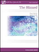 Cover icon of The Blizzard sheet music for piano solo (elementary) by Glenda Austin, beginner piano (elementary)