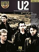 Cover icon of New Year's Day sheet music for guitar (tablature, play-along) by U2 and Bono, intermediate guitar (tablature, play-along)
