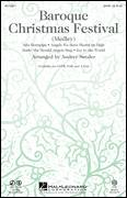 Cover icon of Baroque Christmas Festival (Medley) sheet music for choir (SATB: soprano, alto, tenor, bass) by Audrey Snyder, intermediate
