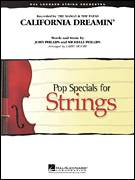 Cover icon of California Dreamin' (COMPLETE) sheet music for orchestra by Robert Longfield, John Phillips, Michelle Phillips and The Mamas & The Papas, intermediate skill level
