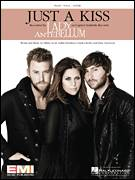 Cover icon of Just A Kiss sheet music for voice, piano or guitar by Lady Antebellum, Charles Kelley, Dallas Davidson, Dave Haywood and Hillary Scott, intermediate skill level