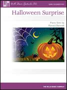 Cover icon of Halloween Surprise sheet music for piano solo (elementary) by Ronald Bennett, beginner piano (elementary)
