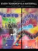 Cover icon of Every Teardrop Is A Waterfall sheet music for voice, piano or guitar by Coldplay, Adrienne Anderson, Brian Eno, Chris Martin, Guy Berryman, Jonny Buckland, Peter Allen and Will Champion, intermediate