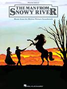 Cover icon of Jim Brings In The Brumbies sheet music for piano solo by Bruce Rowland and The Man From Snowy River (Movie), intermediate skill level