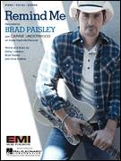 Cover icon of Remind Me sheet music for voice, piano or guitar by Brad Paisley & Carrie Underwood, Carrie Underwood, Brad Paisley, Chris DuBois and Kelley Lovelace, intermediate