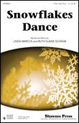 Cover icon of Snowflakes Dance sheet music for choir (2-Part) by Linda Marcus and Ruth Elaine Schram, intermediate duet