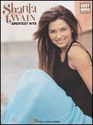 Cover icon of Any Man Of Mine sheet music for guitar solo (easy tablature) by Shania Twain and Robert John Lange, easy guitar (easy tablature)