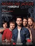 Cover icon of Moves Like Jagger sheet music for voice, piano or guitar by Maroon 5 featuring Christina Aguilera, Christina Aguilera, Maroon 5, Adam Levine, Benjamin Levin and Johan Schuster, intermediate voice, piano or guitar