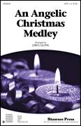 Cover icon of An Angelic Christmas Medley sheet music for choir (SSA: soprano, alto) by Greg Gilpin and Miscellaneous, intermediate