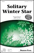 Cover icon of Solitary Winter Star sheet music for choir (3-Part Mixed) by Jerry Estes, intermediate skill level
