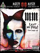 Cover icon of mOBSCENE sheet music for guitar (tablature) by Marilyn Manson and John5, intermediate