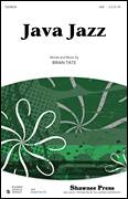 Cover icon of Java Jazz sheet music for choir (SAB: soprano, alto, bass) by Brian Tate, intermediate