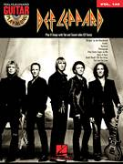 Cover icon of Pour Some Sugar On Me sheet music for guitar (tablature, play-along) by Def Leppard and Robert John Lange, intermediate guitar (tablature, play-along)