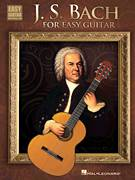Cover icon of Gavotte sheet music for guitar solo (easy tablature) by Johann Sebastian Bach, classical score, easy guitar (easy tablature)