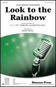 Cover icon of Look To The Rainbow sheet music for choir (SAB) by E.Y. Harburg, Burton Lane and Mark Hayes, intermediate choir (SAB)