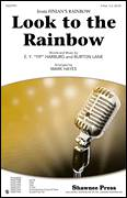 Cover icon of Look To The Rainbow sheet music for choir (duets) by E.Y. Harburg, Burton Lane and Mark Hayes