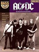 Cover icon of Back In Black sheet music for bass (tablature) (bass guitar) by AC/DC and Brian Johnson, intermediate bass (tablature) (bass guitar)
