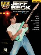 Cover icon of Beck's Bolero sheet music for guitar (tablature, play-along) by Jeff Beck and Jimmy Page, intermediate skill level