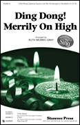Cover icon of Ding Dong! Merrily On High! sheet music for choir (3-Part Mixed) by Ruth Morris Gray and Miscellaneous, intermediate