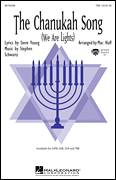 Cover icon of The Chanukah Song (We Are Lights) sheet music for choir (tenor voice, bass voice, choir) by Stephen Schwartz, Steve Young and Mac Huff, intermediate choir (tenor voice, bass voice, choir)