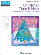 Cover icon of Christmas Time Is Here sheet music for piano four hands by Vince Guaraldi, Miscellaneous and Lee Mendelson, intermediate skill level