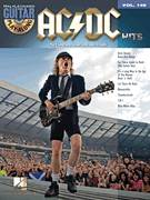 Cover icon of For Those About To Rock (We Salute You) sheet music for guitar (tablature, play-along) by AC/DC and Brian Johnson, intermediate guitar (tablature, play-along)