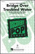 Cover icon of Bridge Over Troubled Water sheet music for choir (2-Part) by Roger Emerson and Simon & Garfunkel, intermediate duet