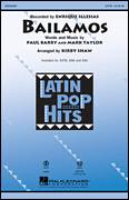 Cover icon of Bailamos sheet music for choir (SATB: soprano, alto, tenor, bass) by Kirby Shaw, Enrique Iglesias, Mark Taylor and Paul Barry, intermediate skill level