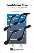 Cover icon of Caribbean Blue sheet music for choir (SATB: soprano, alto, tenor, bass) by Enya and Kirby Shaw, intermediate