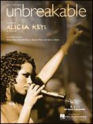 Cover icon of Unbreakable sheet music for voice, piano or guitar by Alicia Keys, Garry Glenn, Harold Lilly, Jr. and Kanye West, intermediate voice, piano or guitar