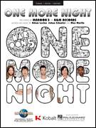 Cover icon of One More Night sheet music for voice, piano or guitar by Maroon 5, intermediate