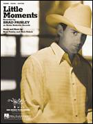 Cover icon of Little Moments sheet music for voice, piano or guitar by Brad Paisley and Chris DuBois, intermediate skill level