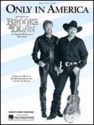 Cover icon of Only In America sheet music for voice, piano or guitar by Brooks & Dunn and Don Cook, intermediate voice, piano or guitar