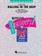 Cover icon of Rolling in the Deep sheet music for concert band (Bb bass clarinet) by Adele, Adele Adkins, Paul Epworth and Robert Longfield, intermediate skill level