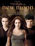 Cover icon of New Moon sheet music for piano solo by Alexandre Desplat and Twlight: New Moon (Movie), easy skill level
