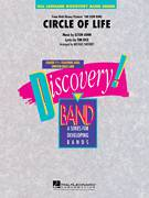 Cover icon of Circle of Life (from The Lion King) sheet music for concert band (Bb trumpet 1) by Elton John, Michael Sweeney and Tim Rice, intermediate skill level
