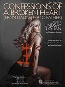 Cover icon of Confessions Of A Broken Heart (Daughter To Father) sheet music for voice, piano or guitar by Lindsay Lohan, Greg Wells and Kara DioGuardi, intermediate skill level