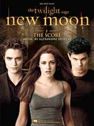 Cover icon of New Moon sheet music for piano solo (big note book) by Alexandre Desplat, easy piano (big note book)