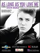Cover icon of As Long As You Love Me sheet music for voice, piano or guitar by Justin Bieber, intermediate skill level