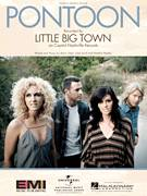 Cover icon of Pontoon sheet music for voice, piano or guitar by Little Big Town, Luke Laird and Natalie Hemby