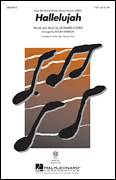 Cover icon of Hallelujah sheet music for choir (TTBB: tenor, bass) by Roger Emerson and Leonard Cohen, intermediate skill level