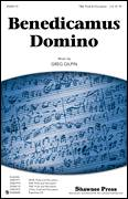 Cover icon of Benedicamus Domino sheet music for choir (TBB: tenor, bass) by Greg Gilpin, intermediate skill level