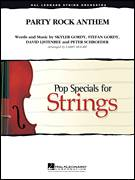 Cover icon of Party Rock Anthem (COMPLETE) sheet music for orchestra by Larry Moore, intermediate