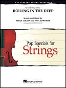 Cover icon of Rolling in the Deep (COMPLETE) sheet music for orchestra by Paul Epworth, Adele and Larry Moore, intermediate