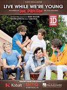 Cover icon of Live While We're Young sheet music for voice, piano or guitar by One Direction, Rami and Savan Kotecha, intermediate
