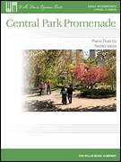 Cover icon of Central Park Promenade sheet music for piano four hands by Naoko Ikeda, intermediate skill level