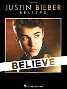 Cover icon of Right Here sheet music for piano solo by Justin Bieber, easy piano