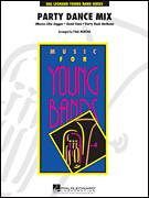 Cover icon of Party Dance Mix (COMPLETE) sheet music for concert band by Paul Murtha, intermediate