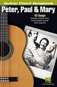 Cover icon of Blowin' In The Wind sheet music for guitar (chords) by Peter, Paul & Mary, intermediate